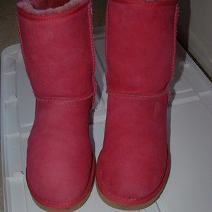 Breast Cancer Awareness Pink Ugg Boots